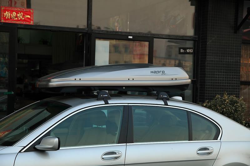 宝马7系安装hapro哈勃车顶行李箱效果图
