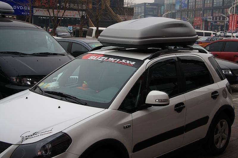 天语sx-4安装hapro哈勃车顶行李箱效果图