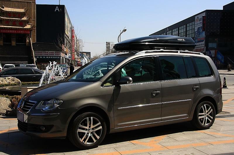 途安安装荷兰happro哈勃车顶行李箱的照片图片
