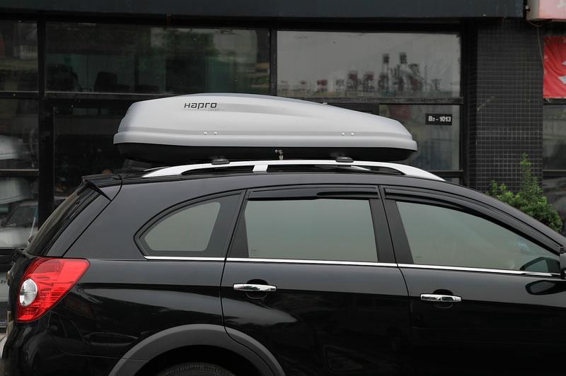 科帕奇安装哈勃凯文5.5车顶行李箱的效果图